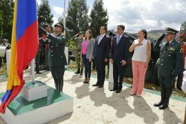 Gobernadora (e) participó en actos de conmemoración de la Batalla del Pantano de Vargas