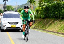 Sérika Gulumá, cuarta en la primera etapa de la Vuelta al Valle Femenina