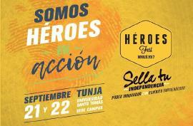 Gobernación se vincula a 'Héroes Fest Boyacá 2017'