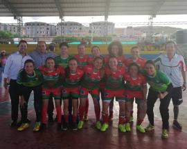 Heroínas va por la clasificación entre los 'cuatro' mejores equipos de la IX Copa Femenina de Fútbol de Salón