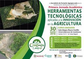 Secretaría de Fomento Agropecuario realizará Primera Jornada Académica de Agricultura