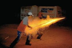 Vigilancia intensificada de lesiones por pólvora en época decembrina