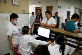 Plan de contingencia en Hospital de Chiquinquirá permite prestación normal del servicio