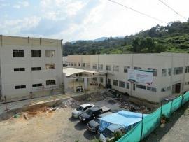 Reanudan obras de construcción de la fase dos del Hospital Regional de Moniquirá