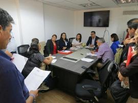 Mesa de acuerdo a la formalización laboral ESE San Rafael de Tunja