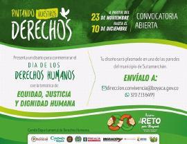 Gobernación conmemorará Día Universal de los Derechos Humanos