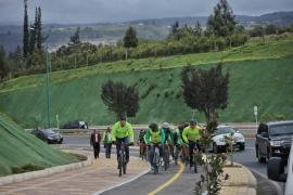 En Tunja, gobernador Carlos Amaya inauguró Paseo Nairo Quitana