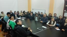 Gerente de INFIBOY presentó rendición interna de cuentas