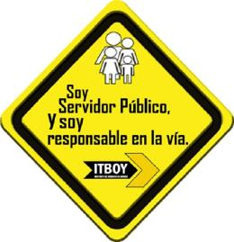 ITBOY invita a que servidores públicos sean ejemplo de conciencia vial