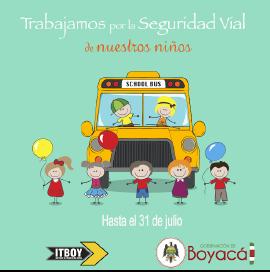 ITBOY invita a participar en actualización de datos de servicio de transporte escolar