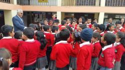 Canapro hizo entrega de 180 pupitres a la Institución Educativa Técnica San Pedro de Iguaque
