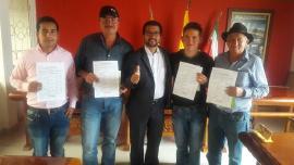 Participación y Democracia entregó reconocimientos jurídicos a dignatarios de Ramiriquí