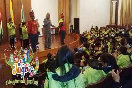Red Departamental de Bibliotecas Públicas de Boyacá apoya ¡Es Hora de Jugar Hagámoslo Juntos!