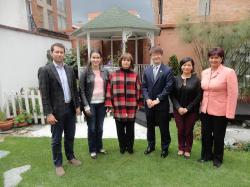 Casa de Boyacá promueve la cooperación internacional en el Departamento