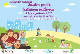 Salud organiza Encuentro Saludable: 'Juntos por la Lactancia Materna'