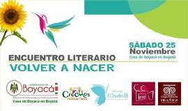 """Encuentro Literario """"Volver a Nacer"""""""