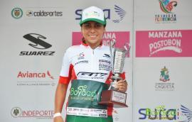 Lorena Colmenares del BRC subcampeona en el Tour Femenino