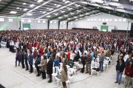 Más de 5.000 maestros en masiva celebración de su día