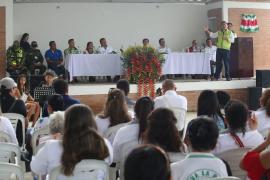 En Otanche, instituciones hicieron pacto por la vida de los líderes