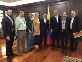 Gobernador y Fomento Agropecuario se reunieron con el Ministro de Agricultura
