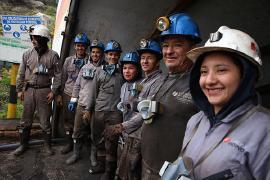 Empleadores, operadores y empresarios mineros se capacitan para prevenir accidentes