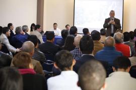 Ministro de Justicia habló de paz con empresarios y sector productivo de Boyacá