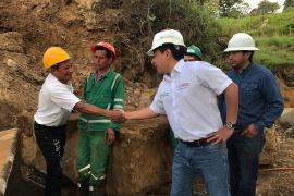 Tres propuestas se presentaron para la pavimentación de la vía Miraflores – Páez