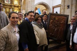 Gobernador Carlos Amaya preocupado por el deterioro de monumentos históricos del departamento