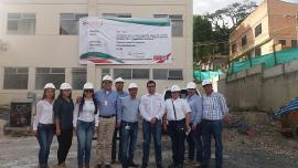 Gobernación de Boyacá analiza obras del Nuevo Hospital de Moniquirá en su fase final
