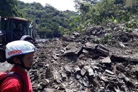 Gobierno de Boyacá atiende emergencia por deslizamiento en Muzo que deja dos desaparecidos