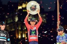 Nairo Quintana irá por su segundo título de Vuelta a España