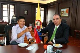 Nairo Quintana y MinAgricultura, juntos apoyan el trabajo de los campesinos