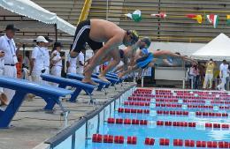 Equipo de natación de Boyacá participa con decoró en Juegos Paranacionales 2015