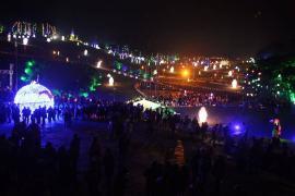 En Boyacá se encendió la luz de la Navidad