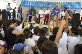6.500 niños boyacenses disfrutaron con 'Es Hora de Jugar'