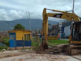 Reiniciaron obras de colectores en Duitama
