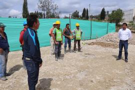 Director de Vivienda de Boyacá suscribe acta de inicio de construcción de Polideportivo de Paipa