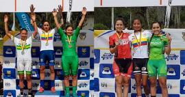 Flor Delgadillo y Gabriela Bejarano obtuvieron bronce en el Campeonato Nacional de Ciclomontañismo