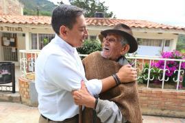 """""""Que el estado nunca más abandone los territorios"""", Carlos Amaya"""