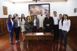 Gobernación y UNICEF firmaron el Pacto por la Niñez y la Adolescencia Boyacense