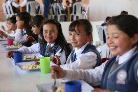 Gobernador le cumple con la alimentación escolar a los estudiantes de Boyacá en el 2018