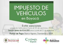 Última oportunidad para pagar impuesto de vehículo sin sanciones