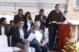 Gobernador inauguró Hospital de Paipa