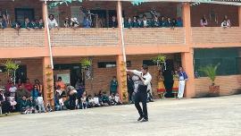 Dirección de Juventud cumplió nuevo servicio social en Institución Educativa de Paipa
