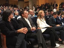 Gobernador Carlos Amaya participó del lanzamiento de 'Gana Control'