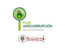 Gobernación actualizó su plan anticorrupción y Atención al Ciudadano
