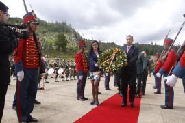 Gobernadora (e) participa en conmemoración de los 197 años de la Batalla del Pantano de Vargas