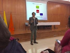 Paternidades sin patriarcado, tema que abordó la Secretaría de Salud en conversatorio