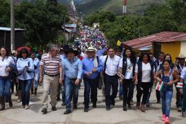 Importantes compromisos de la administración boyacense con la provincia de La Libertad