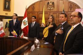 """""""Boyacá es potencia en productos agropecuarios, buscaremos mercados en Perú"""", Embajador"""